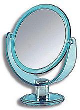 Parfumuri și produse cosmetice Oglindă dublă, albastră, 12 cm - Donegal Mirror
