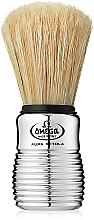 Parfumuri și produse cosmetice Pămătuf de ras, 10081, argintiu - Omega