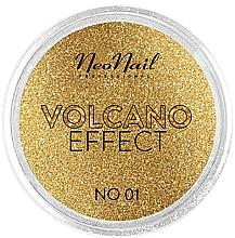 "Parfumuri și produse cosmetice Glitter pentru unghii ""Volcano Effect"" - NeoNail Professional Volcano Effect"