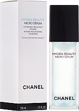 Parfumuri și produse cosmetice Ser de față pentru hidratare - Chanel Hydra Beauty Micro Serum