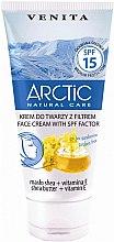 Parfumuri și produse cosmetice Cremă pentru față cu protecție solară - Venita Arctic Face Cream With SPF 15 Factor Shea Butter + Vitamin E