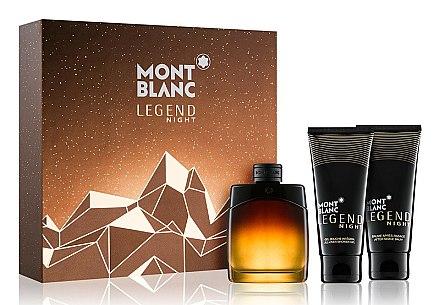 Montblanc Legend Night - Set (edp/100ml + sh/gel/100ml + ash/balm/100ml) — Imagine N1