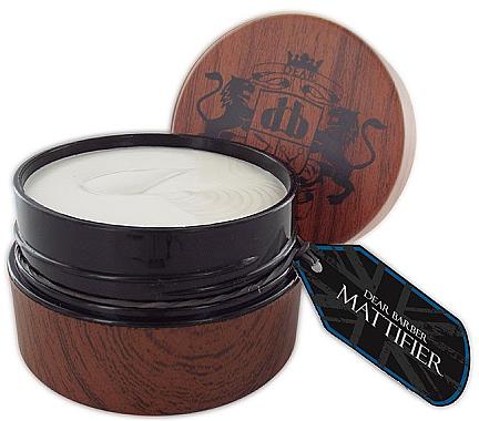 Pastă pentru styling - Dear Barber Mattifier Hair Paste — Imagine N1