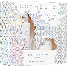 Parfumuri și produse cosmetice Set - Cosmedix Brightening Boost Ultimate Glow Kit (f/ser/30ml + f/powder/6g)