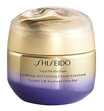 Parfumuri și produse cosmetice Cremă cu efect de lifting și întărire pentru față - Shiseido Vital Perfection Uplifting & Firming Cream Enriched