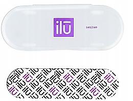 Parfumuri și produse cosmetice Pilă de unghii, cu husă - Ilu Nail File With Case Mini 240/240