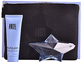 Parfumuri și produse cosmetice Thierry Mugler Angel - Set (edp/25ml + b/lot/50ml + bag)