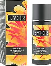 Parfumuri și produse cosmetice Cremă de zi cu acid hialuronic și ulei de argan - Ryor Day Cream With Hyaluronic Acid And Argan Oil