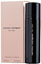 Parfumuri și produse cosmetice Narciso Rodriguez For Her - Deodorant