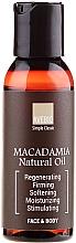 """Parfumuri și produse cosmetice Ulei esențial """"Macadamia"""" - Avebio OiL Macadamia"""
