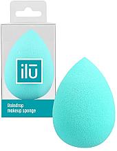 Parfumuri și produse cosmetice Burete de machiaj - Ilu Sponge Raindrop Turquoise
