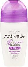 Parfumuri și produse cosmetice Antiperspirant roll-on 72h - Oriflame Activelle Actiboost Extreme