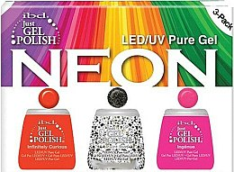 Parfumuri și produse cosmetice Set - IBD Just Gel Polish Neon Kit (gel/polish/3*14ml)
