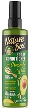 Parfumuri și produse cosmetice Spray-balsam de păr - Nature Box Avocado Oil Spray Conditioner