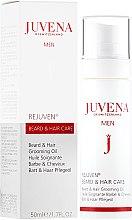 Parfumuri și produse cosmetice Ulei pentru barbă și păr - Juvena Rejuven Men Beard & Hair Grooming Oil