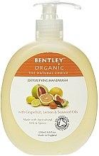 "Parfumuri și produse cosmetice Săpun lichid pentru mâini ""Detox"" - Bentley Organic Body Care Detoxifying Handwash"