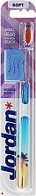 Parfumuri și produse cosmetice Periuță de dinți, moale Individual Reach, albastră - Jordan Individual Reach Soft
