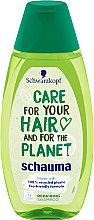 Parfumuri și produse cosmetice Șampon regenerant - Schwarzkopf Schauma Care For Your Hair & For The Planet Repairing Shampoo