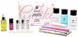 Parfumuri și produse cosmetice Set pentru manichiură, 13 produse - Kabos Base Set Gelike Red