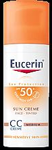 Parfumuri și produse cosmetice CC-cremă - Eucerin CC-creme Sunscreen for face SPF 50+
