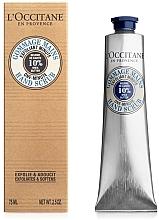 Parfumuri și produse cosmetice Скраб для рук - L'Occitane Shea Butter One Minute Hand Scrub