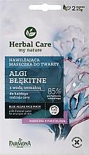 """Parfumuri și produse cosmetice Маска для лица """"Синие водоросли"""" - Farmona Herbal Care Blue Algae Face Mask"""