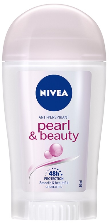 "Deodorant stick antiperspirant ""Frumusețea perlelor"" - Nivea Pearl & Beauty for Women Deodorant Stick  — Imagine N1"