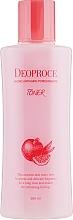 Parfumuri și produse cosmetice Toner anti-îmbătrânire cu extract de rodie și acid hialuronic - Deoproce Hydro Antiaging Pomegranate Toner
