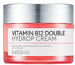 Parfumuri și produse cosmetice Cremă hidratantă cu vitamina B12 - Missha Vitamin B12 Double Hydrop Cream