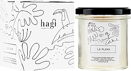 Parfumuri și produse cosmetice Lumânare aromată - Hagi Soy Candle La Playa