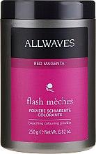 Духи, Парфюмерия, косметика Pudră decolorantă - Allwaves Flash Maches Bleaching Colouring Powder