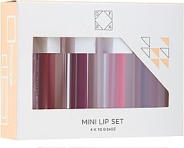 Parfumuri și produse cosmetice Set - Ofra To: Me Mini Liquid Lipstick Set (lipstick/4x1g)