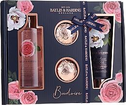 Set - Baylis & Harding Boudoire Rose (sh/gel/300ml + b/lot/200ml + bath/bomb/2x75g) — Imagine N1