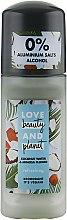 """Parfumuri și produse cosmetice Deodorant roll-on """"Cocos și flori de mimoză"""" - Love Beauty And Planet"""