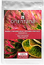 """Parfumuri și produse cosmetice Mască pentru pielea din jurul ochilor """"Croton Eluteria"""" - Orientana Eye Silk Pad Cascarilla"""