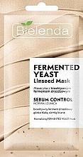 Parfumuri și produse cosmetice Mască enzimatică pentru față - Bielenda Fermented Yeast Linseed Mask