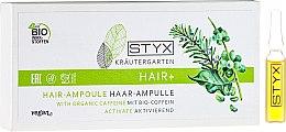 Parfumuri și produse cosmetice Fiole cu bio-cafeină de păr - Styx Naturcosmetic Haar Balsam mit Melisse