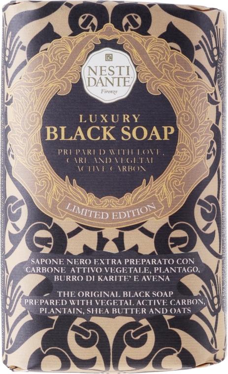 """Săpun """"Negru de lux"""" - Nesti Dante Luxury Black Soap"""
