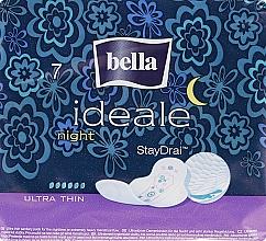 Духи, Парфюмерия, косметика Absorbante Ideale Night StayDrai, 7 bucăți - Bella