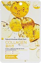 Parfumuri și produse cosmetice Mască de țesut cu colagen - Eunyul Natural Moisture Mask Pack Collagen