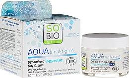Parfumuri și produse cosmetice Cremă-gel de zi pentru față - So'Bio Etic Aqua Energie Dynamic Oxygen-Rich Gel Day Cream
