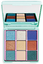 Parfumuri și produse cosmetice Paletă farduri de ochi - I Heart Revolution Glitter Palette