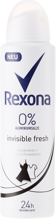 "Spray anti-perspirant ""Invisible Fresh"" - Rexona Deodorant Spray"