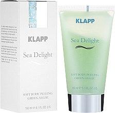 Parfumuri și produse cosmetice Peeling pentru corp - Klapp Sea Delight Soft Body Peeling Green-Algae