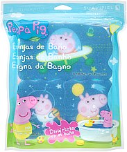 Parfumuri și produse cosmetice Set bureți de baie - Suavipiel Peppa Pig Bath Spong