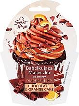 Parfumuri și produse cosmetice Mască regenerantă pentru față - Marion Sweet Mask Chocolate Orange Cake