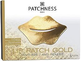 Parfumuri și produse cosmetice Patch-uri pentru buze - Patchness Lip Patch Gold