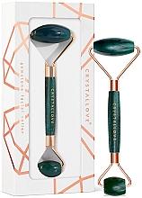 Parfumuri și produse cosmetice Roller pentru masaj facial - Crystallove Aventurine Roller