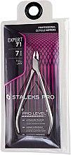 """Parfumuri și produse cosmetice Clește profesionale pentru cuticule NE-71-7 """"Expert"""" - Staleks Pro"""