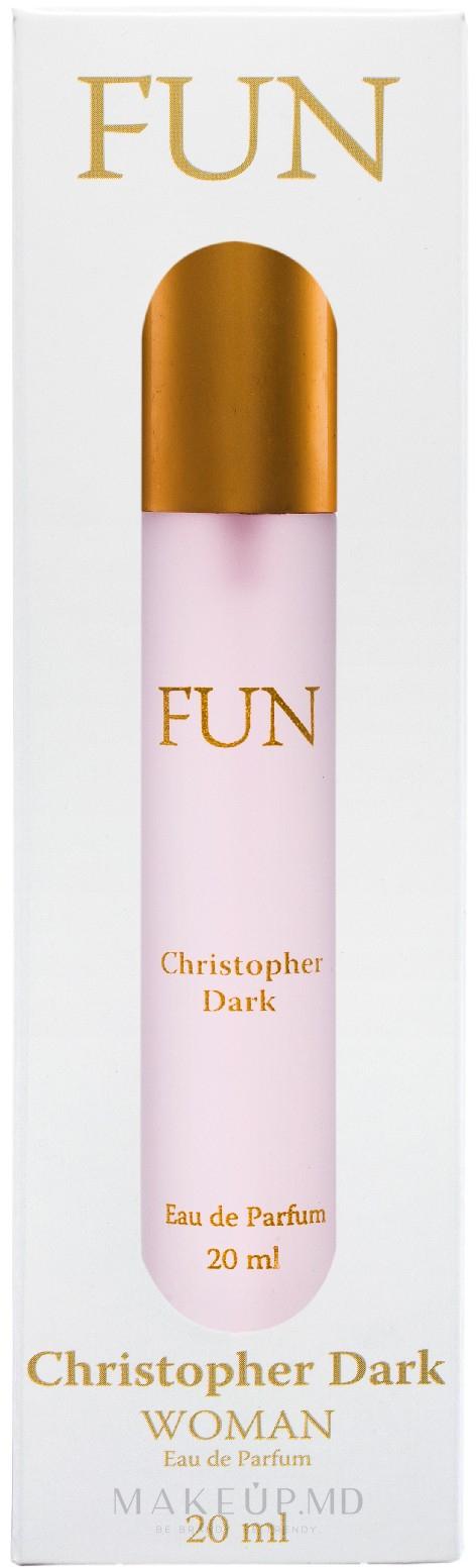 Christopher Dark Fun - Apă de parfum — фото 20 ml